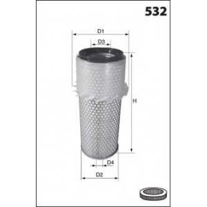 MECAFILTER FA3646 Air filter