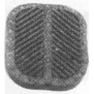 METALCAUCHO 00411 Педальные накладка, педаль тормоз; Накладка на педаль, педаль сцепления