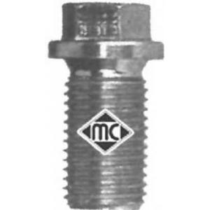 METALCAUCHO 00857 Пробка маслосливного отверстия МВ ОМ601-603
