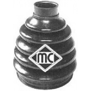 METALCAUCHO 01155 Пильовик зовн. Fiat Doblo 1.3 JTD 04-, 1.9 JTD 01-