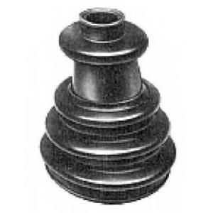 METALCAUCHO 01483 Пыльник ШРУСа наружного (комплект) MB100