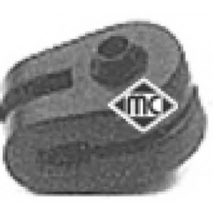 METALCAUCHO 02763 Подушка глушителя (02763) Metalcaucho