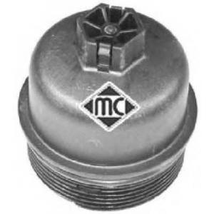 METALCAUCHO 03837 Корпус масляного фильтра Fiat Doblo 1.3MJTD 16v 04-11/Qubo 1.4 8v 07- PSA