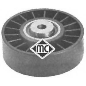 Натяжной ролик, поликлиновой  ремень; Паразитный / 04926 metalcaucho -