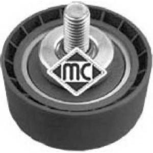 METALCAUCHO 04928 Ролик ремня ручейкового Peugeot 206, 306 1.9D 98-