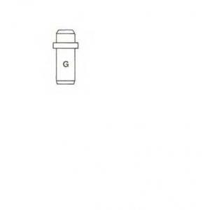 METELLI 011228 Направляющая втулка клапана
