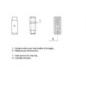 011370 metelli Направляющая втулка клапана LADA 1200-1600 седан 1200 L/S (VAZ, WAS2101)