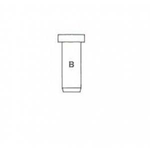 Направляющая втулка клапана, выпускного 9,00x12,75 012258 metelli -