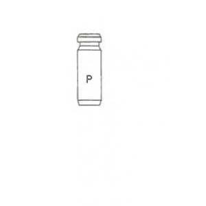 Втулка направляющая выпускного клапана 01s2730 metelli -