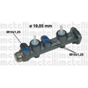 METELLI 050009 Главный тормозной цилиндр