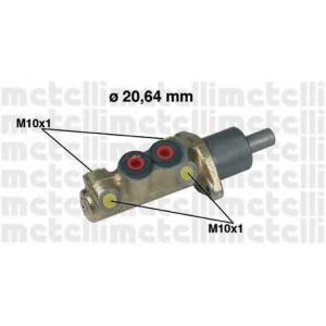METELLI 050039 Главный тормозной цилиндр