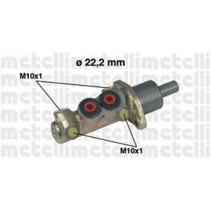 METELLI 05-0196 Циліндр гальмівний головний
