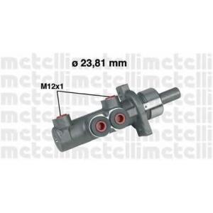 METELLI 05-0280 Циліндр гальмівний головний