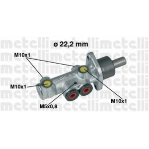 METELLI 050353 Главный тормозной цилиндр