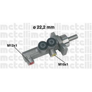 METELLI 050381 Главный тормозной цилиндр