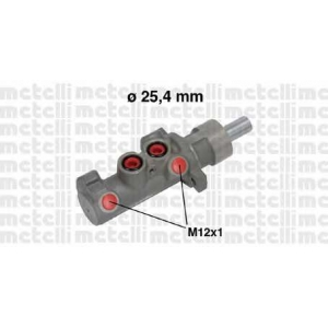 METELLI 050642 Главный тормозной цилиндр