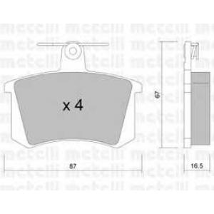 METELLI 22-0048-0 Brake Pad