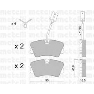 METELLI 22-0065-0 Brake Pad