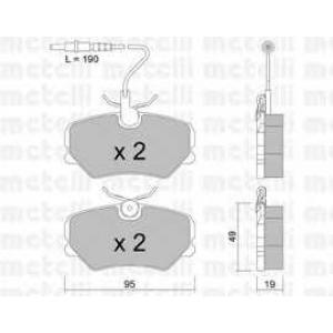 METELLI 22-0099-0 Brake Pad