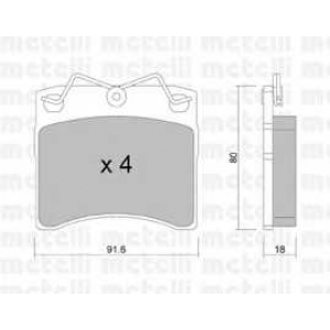 METELLI 22-0163-0 Brake Pad