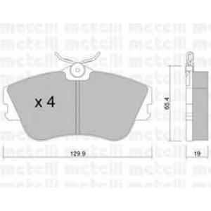 METELLI 22-0164-0 Brake Pad