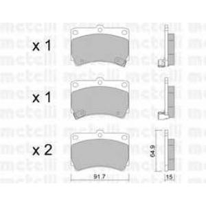 METELLI 22-0196-0 Brake Pad