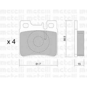 METELLI 22-0203-0 Brake Pad