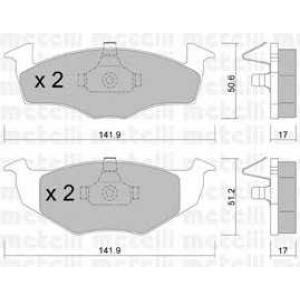 METELLI 22-0206-0 Brake Pad