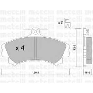 METELLI 22-0216-0 Brake Pad