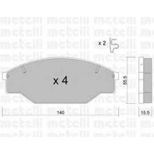 METELLI 22-0227-0 Brake Pad