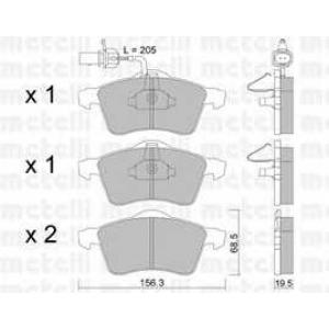 METELLI 22-0263-1 Brake Pad