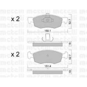 METELLI 22-0274-2 Brake Pad
