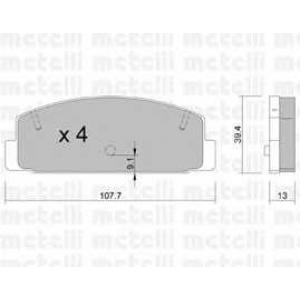 METELLI 22-0302-1 Brake Pad