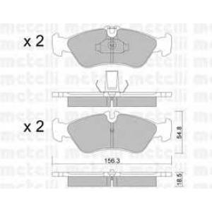 METELLI 22-0311-0 Brake Pad