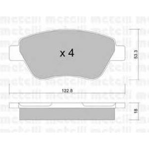 METELLI 22-0321-1 Brake Pad