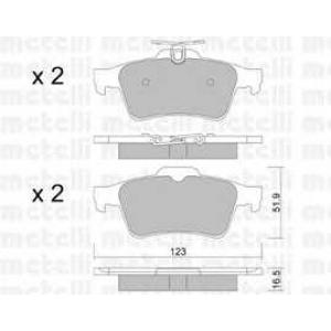 METELLI 22-0337-1 Brake Pad