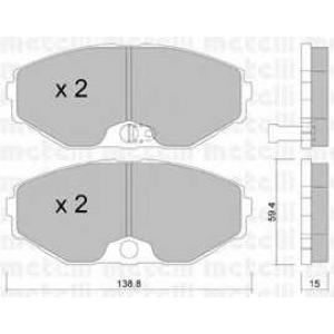 METELLI 22-0405-0 Brake Pad