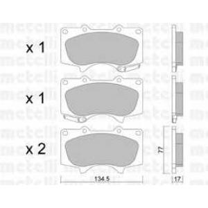 METELLI 22-0454-0 Brake Pad