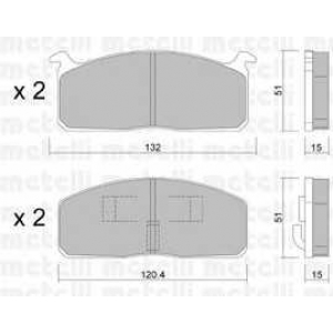 METELLI 22-0457-0 Brake Pad