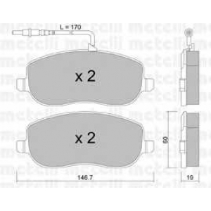 METELLI 22-0530-0 Brake Pad