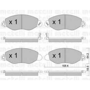 METELLI 22-0536-0 Brake Pad