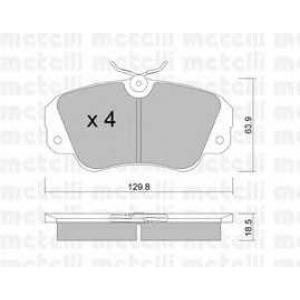 METELLI 22-0538-0 Brake Pad