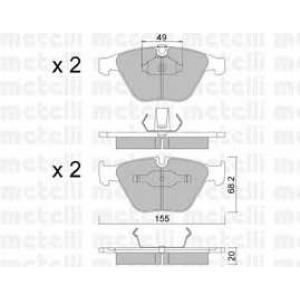 METELLI 22-0558-0 Brake Pad