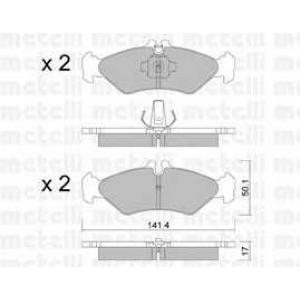 METELLI 22-0571-0 Brake Pad