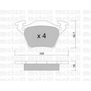 METELLI 22-0574-0 Brake Pad