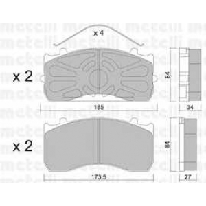 METELLI 22-0583-0 Brake Pad