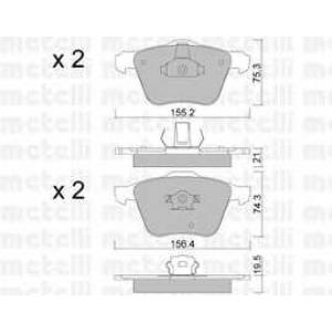 METELLI 22-0599-0 Brake Pad