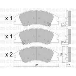 METELLI 22-0630-0 Brake Pad