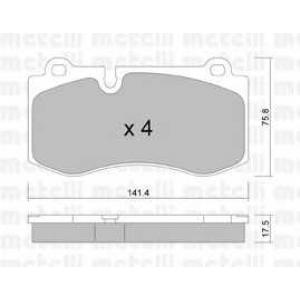 METELLI 22-0669-0 Brake Pad