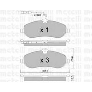 METELLI 22-0707-0 Brake Pad